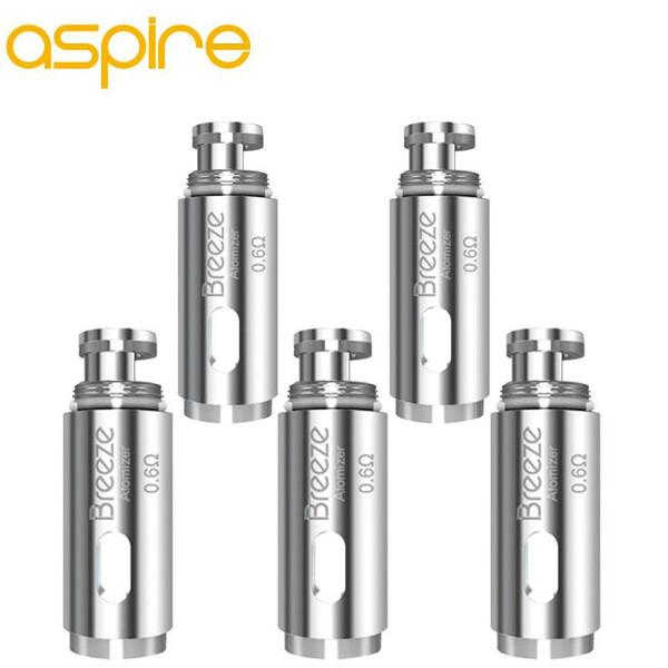 Aspire Breeze Atomizer Head, 5 Pack