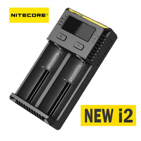 Nitecore Intellicharger i2 Battery Charger, 2 Bays