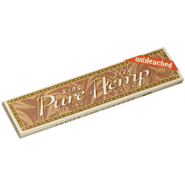 Pure Hemp Rolling Papers, Unbleached, King Size