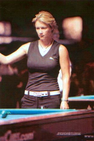 SPOTTED! Allison Fisher - Pro Billiard Player