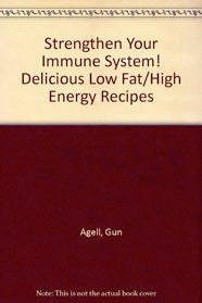 "Gun Agell, Author: Strengthen Your Immune System [""...enhances my own energy levels.""]"