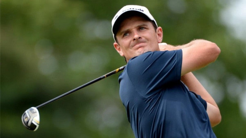 "Justin Rose - PGA Champion [""...not many products as successful in terms of victory on the PGA tour.""]"