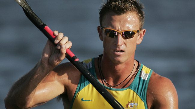 "Nathan Baggaley - Olympian [""...it helped me deal with the stress of the Olympics...""]"