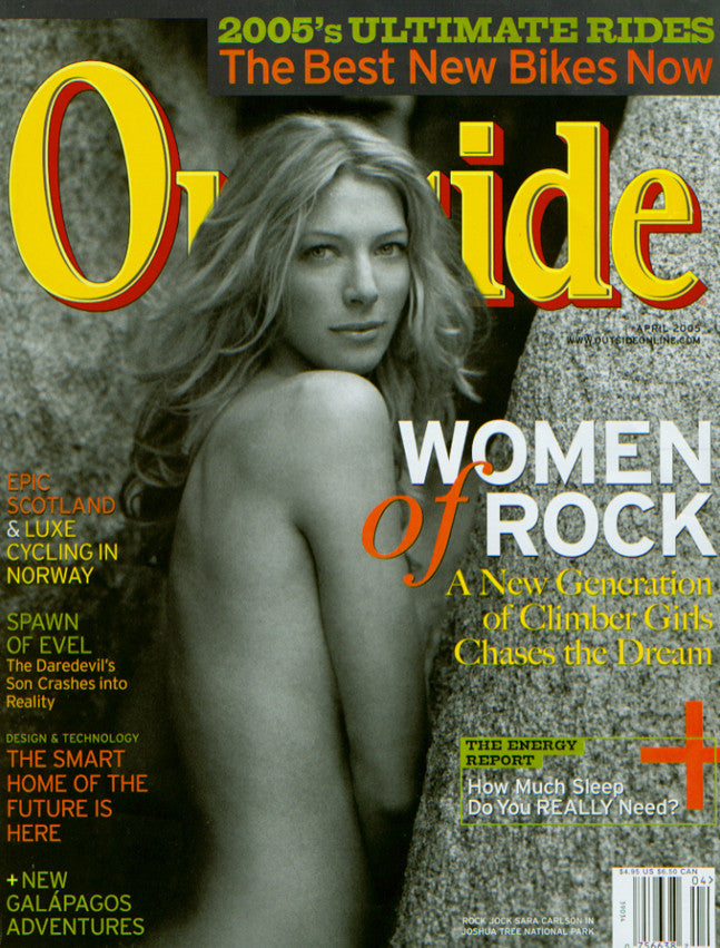 Outside Magazine - Q-Link covered
