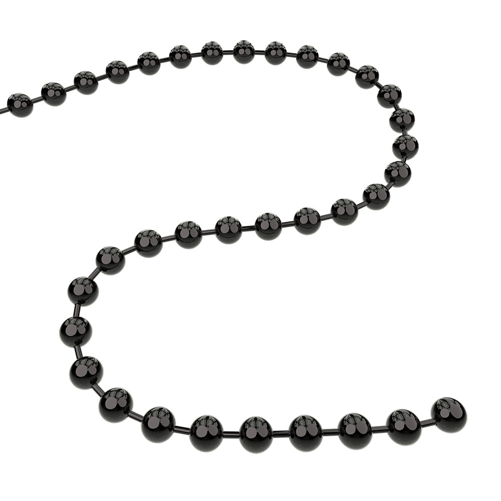 Q-Link Brand Bead Chain (Black)