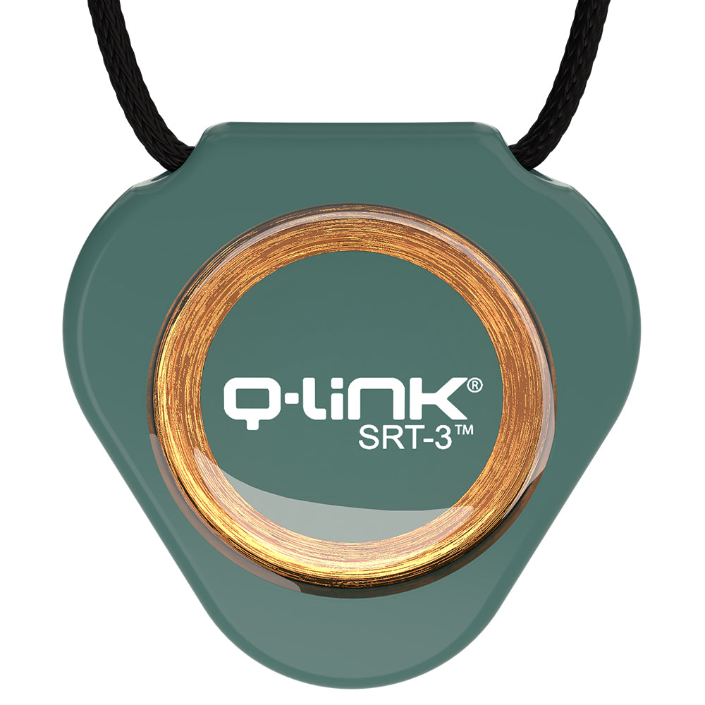 Q-Link Acrylic SRT-3 Pendant (Botanical Green) - New!