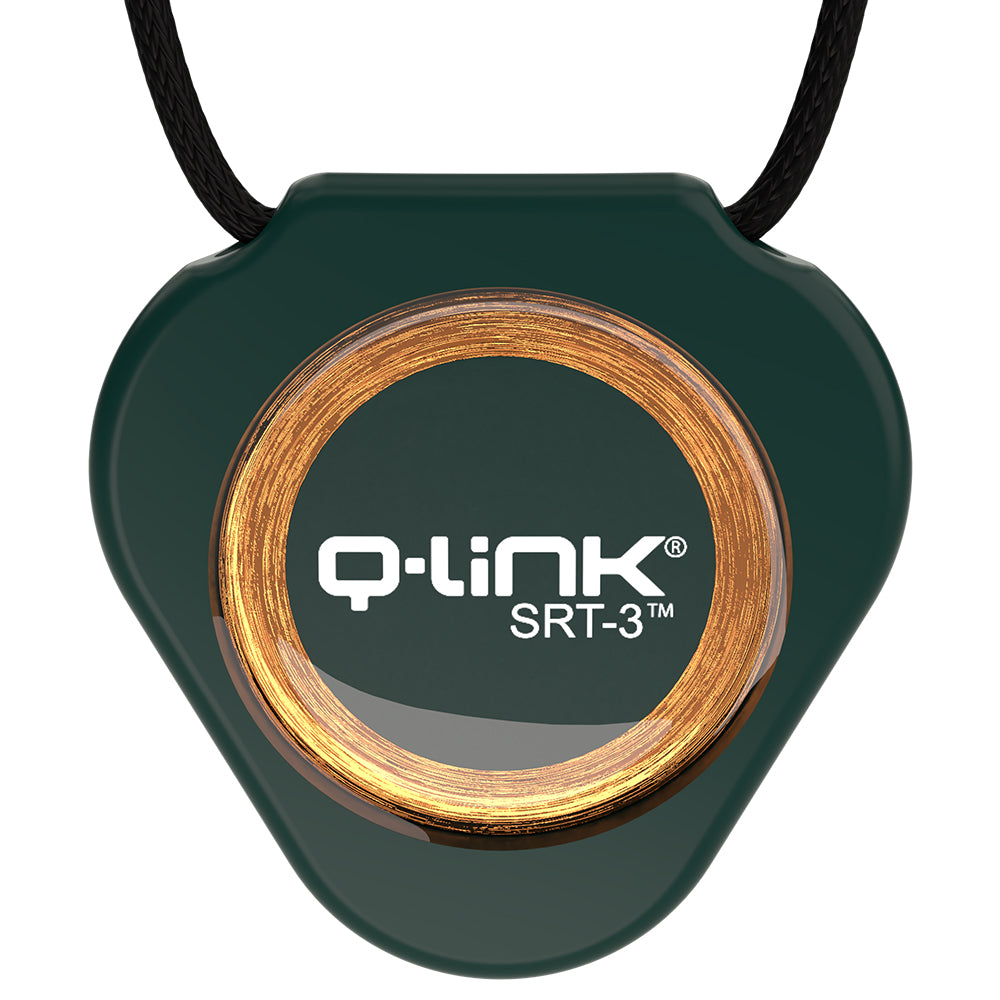 Q-Link Acrylic SRT-3 Pendant (Deep Evergreen) - New!