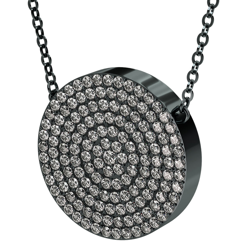 Q-Link Brilliant SRT-3 Pendant (Gunmetal Finish)
