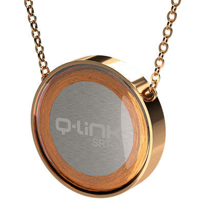 Q-Link Brilliant SRT-3 Pendant (Gold Finish)