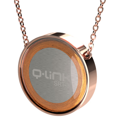 Q-Link Brilliant SRT-3 Pendant (Rose Finish)