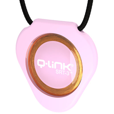 Q-Link Acrylic SRT-3 Pendant (Pacific Rose) - New!