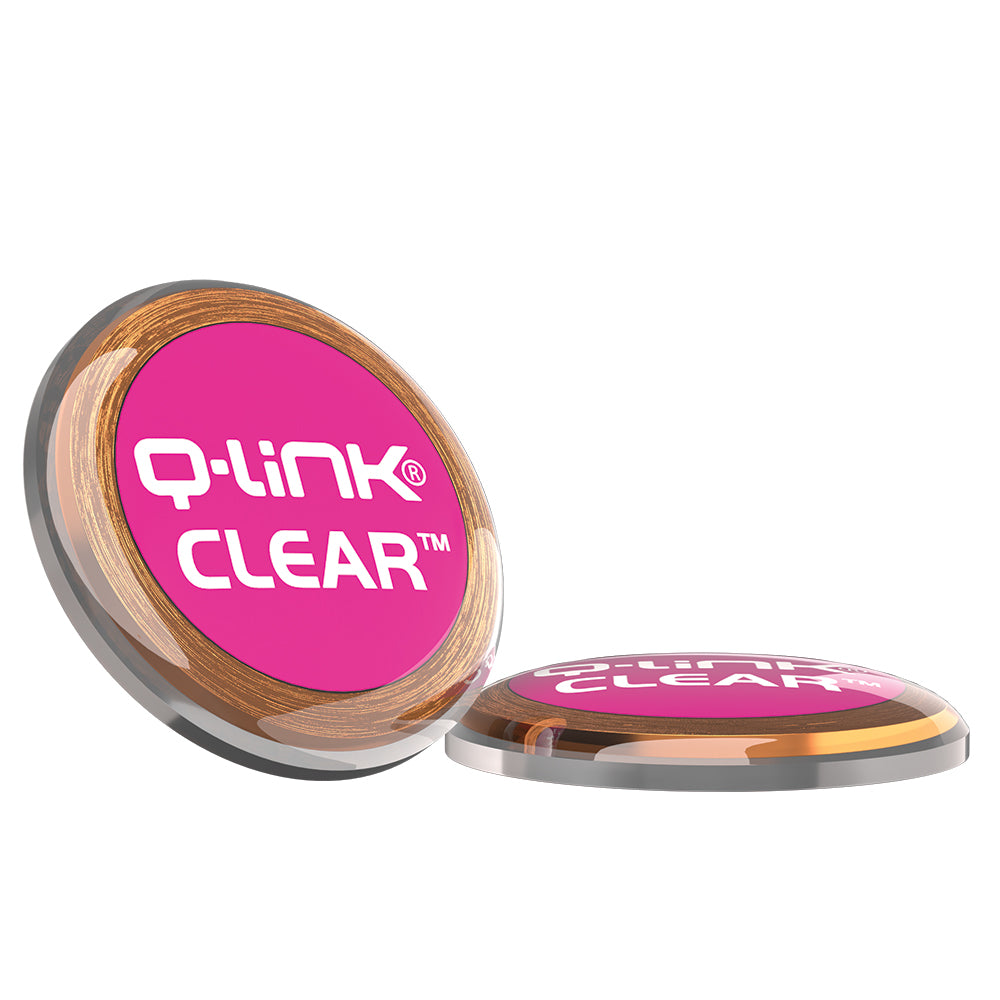 Q-Link Acrylic SRT-3 CLEAR (Pink)