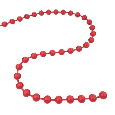 Q-Link Brand Bead Chain <br>(Dynamic Red)