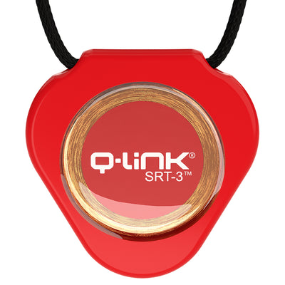 Q-Link Acrylic SRT-3 Pendant (Dynamic Red)