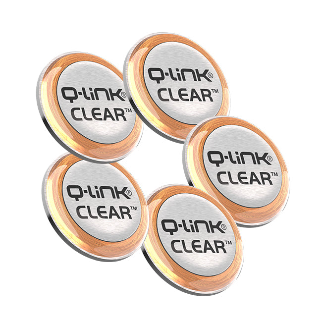Q-Link CLEAR 5 Pack Bundle (5 Stainless Steel)