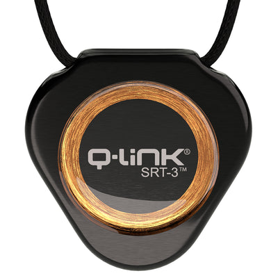 Q-Link Stainless Steel SRT-3 Pendant (Cosmos Black) - NEW!