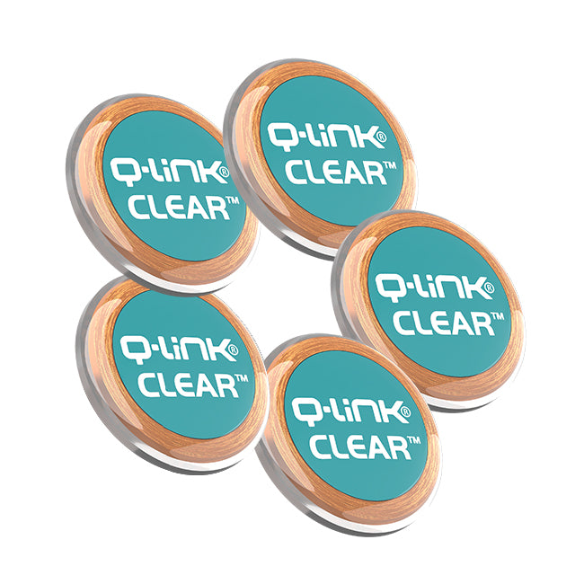 Q-Link CLEAR 5 Pack Bundle (5 Teal)