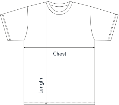 Tee measurement details
