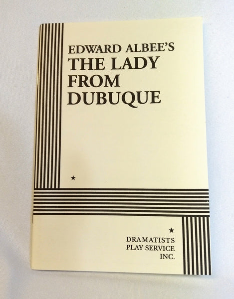 Signed Edward Albee Play