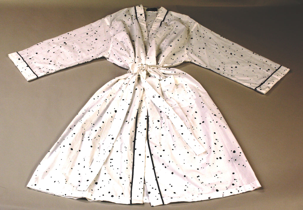 Custom Made LongHouse Splatter Robe