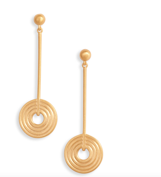 Stunningly Simple Earrings