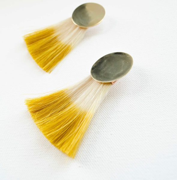 Wild Horsehair Earrings