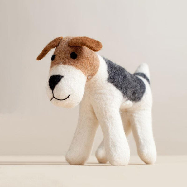 Hand Felted Terrier