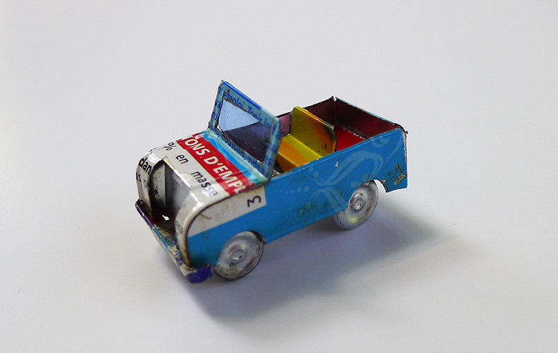 Tiny Tin Can Vehicles