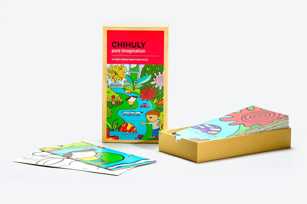Chihuly Inspired Puzzle