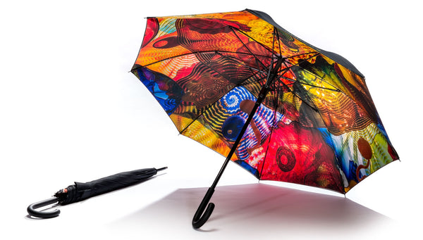 Chihuly Studio Pergola Umbrella