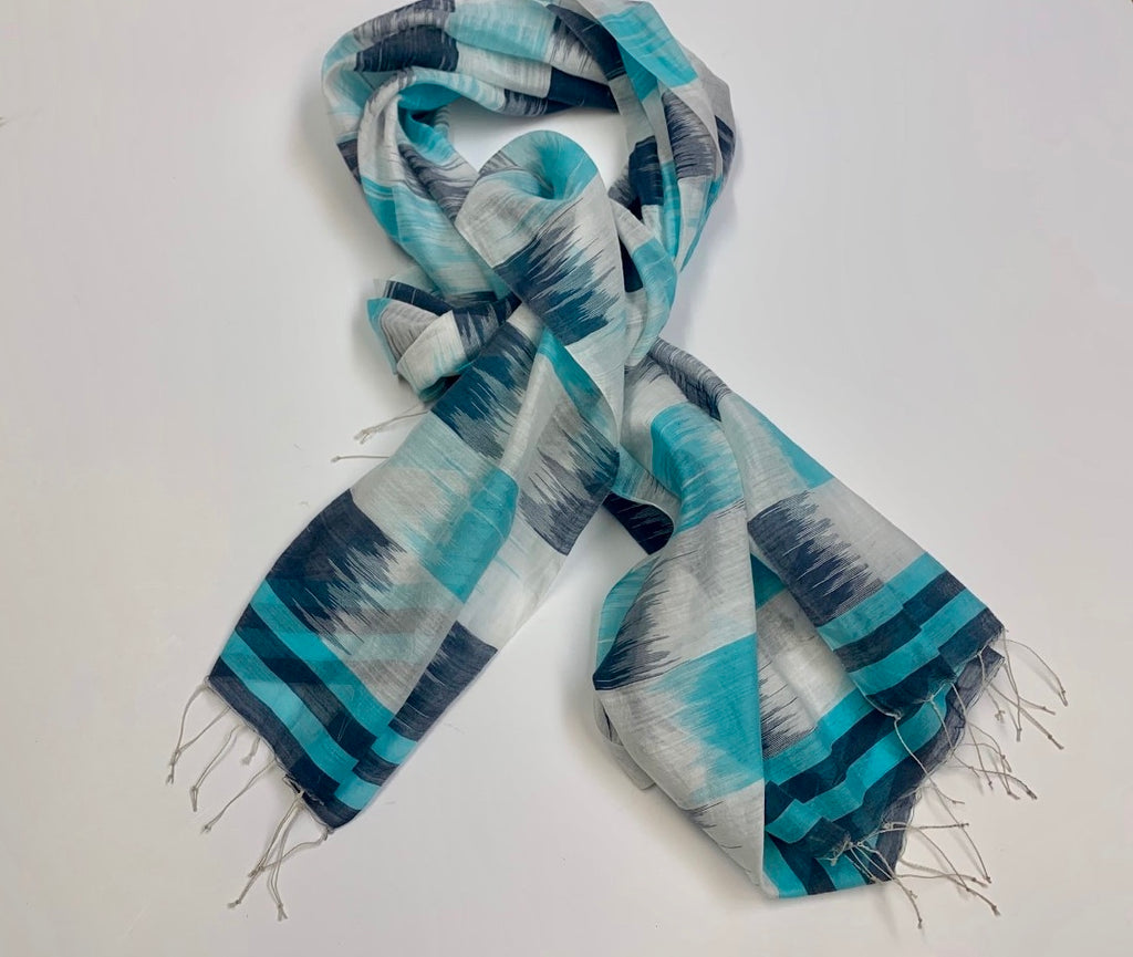 Sea and Sky Scarf