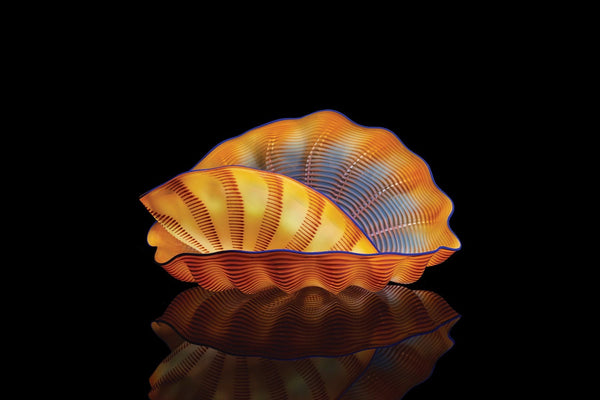 """Monarch Seaform"" Studio Edition by Chihuly"