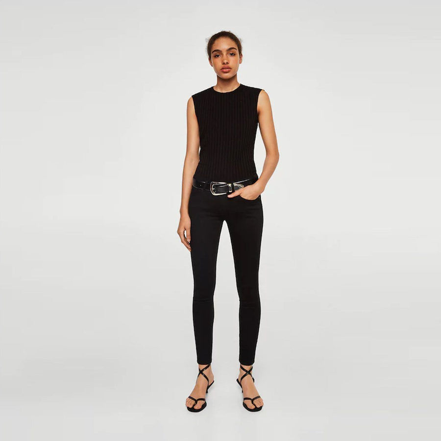 Black kim skinny push-up jeans