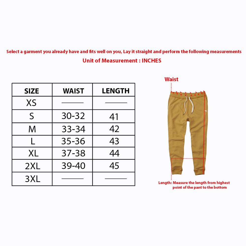 Men Premium Quality Regular Fit Heavy Fleece Off-White Jogger Trouser (21020)