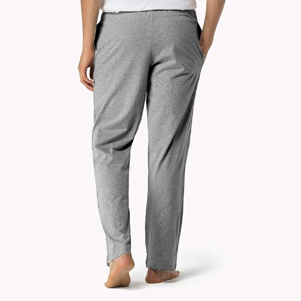 TOMMY HILFIGER-grey icon lounge pants