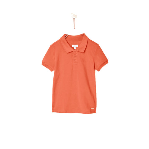 PATCH-boys joseph solid orange polo