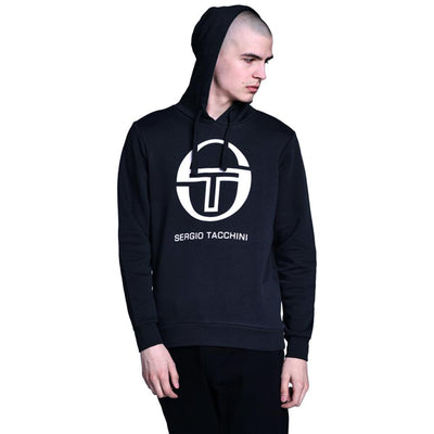 Navy zion fleece hooded sweater