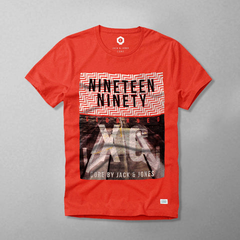 JACK & JONES-nineteen ninety graphic t-shirt