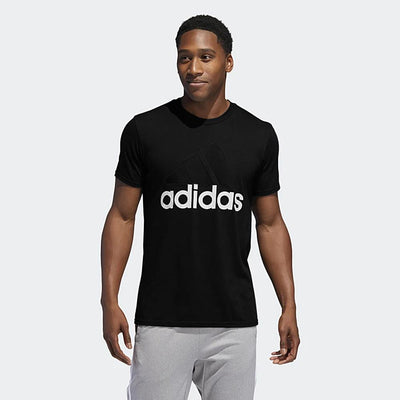 ADIDAS-black badge of sport classic t-shirt