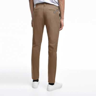 ZARA-tan 'skinny fit' stretch cotton chino