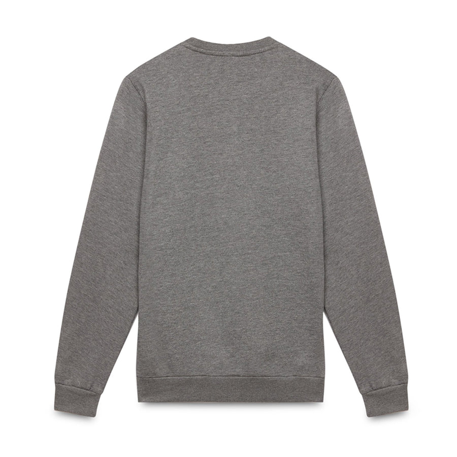 SERGIO TACCHINI-grey zaman fleece sweatshirt