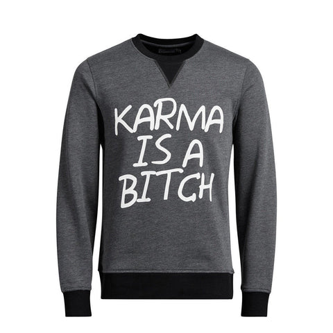 JACK & JONES-exclusive karma statement sweatshirt
