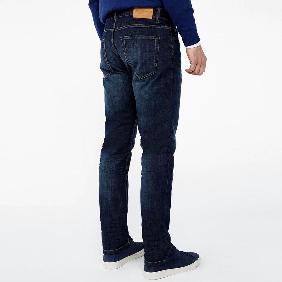 Hemptn republic blue 'slim fit' stretch jeans (1643)