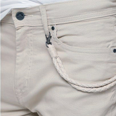SPLASH-pocket detail cotton shorts with button closure