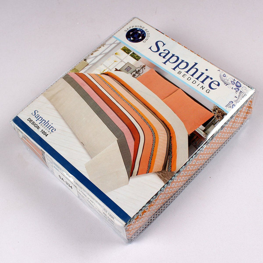 SAPPHIRE-premium quality king size bed sheet set (SA-334)