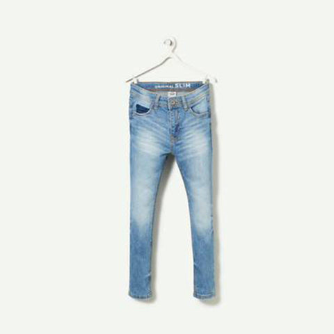 TAO-boys light blue 'slim fit' soft jeans
