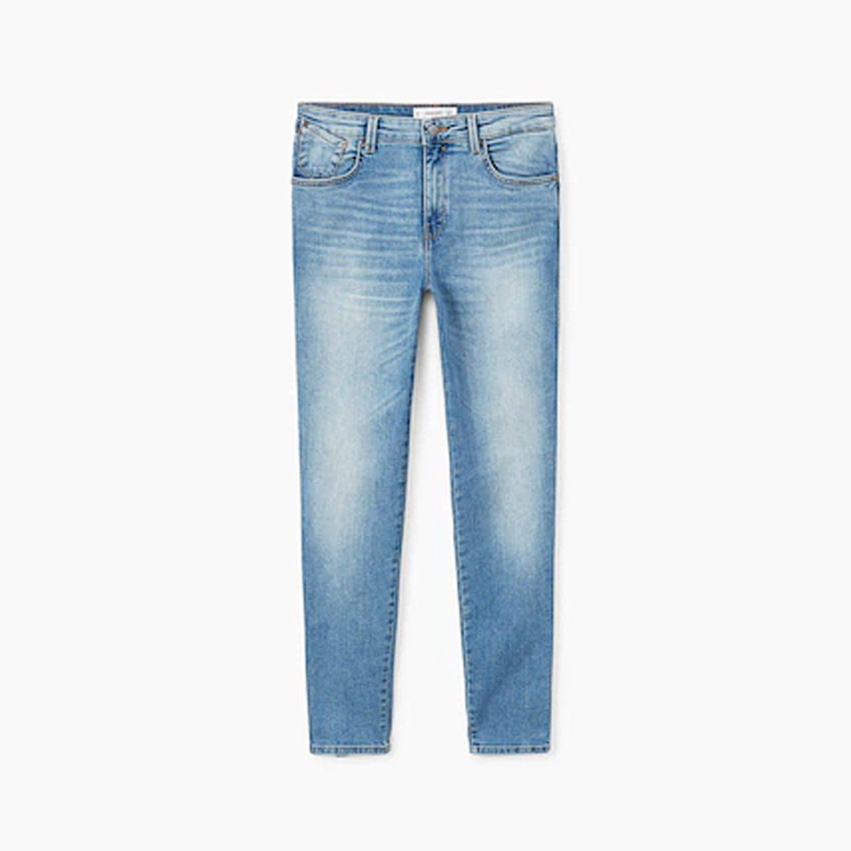 Light blue push-up uptwon jeans
