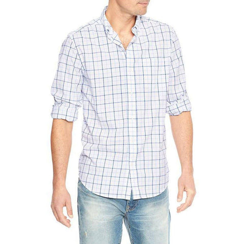 GAP-true wash poplin button-down 'slim fit' shirt
