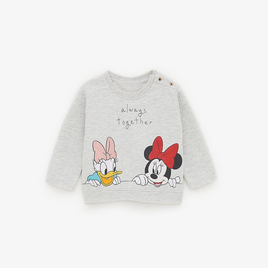Zr kids Minnie mouse and daisy duck sweatshirt (1473)