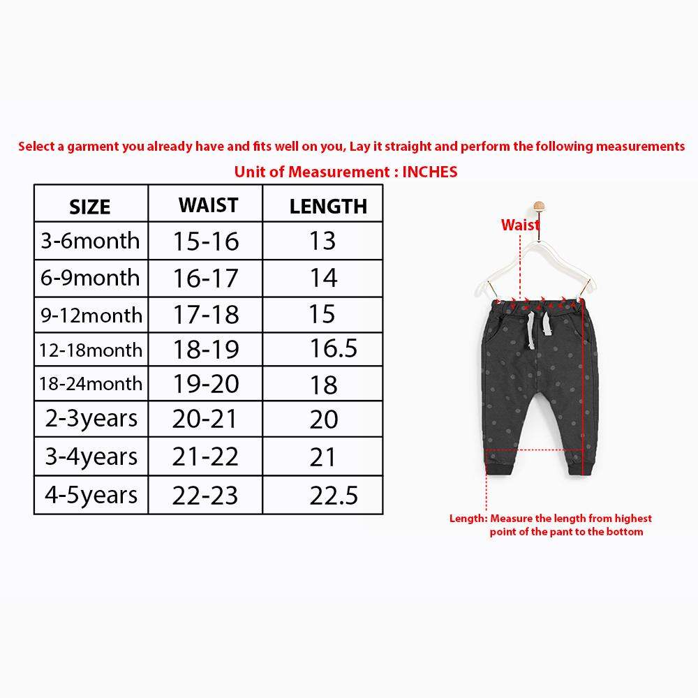 Kids Printed Winter Legging With Front Pocket (30218)